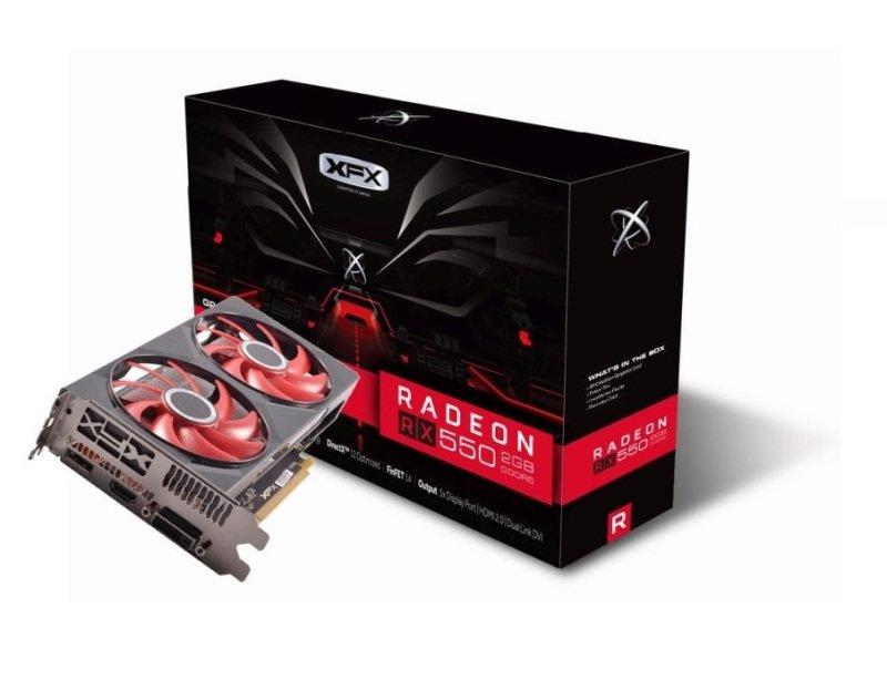 XFX Radeon RX 550 2GB Graphics Card