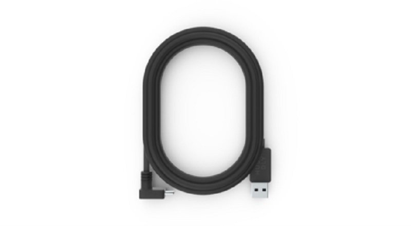 Huddly USB 3 Type Angled C to A Cable 5.0m