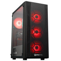 AlphaSync AMD Ryzen 5 Pro 8GB RAM 1TB HDD 240GB SSD GTX 1660 Win10 Home Gaming Desktop PC
