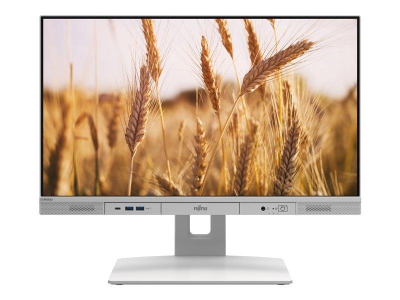 """Fujitsu ESPRIMO K5010 24"""" AIO Core i5 10th Gen 8GB RAM 256GB SSD Win10 Pro Desktop PC"""