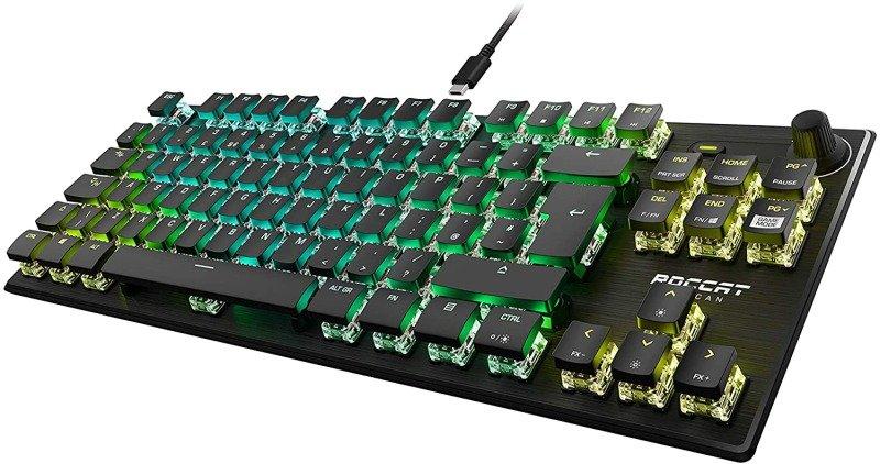 ROCCAT Vulcan Pro TKL Optical Linear Switch Gaming Keyboard