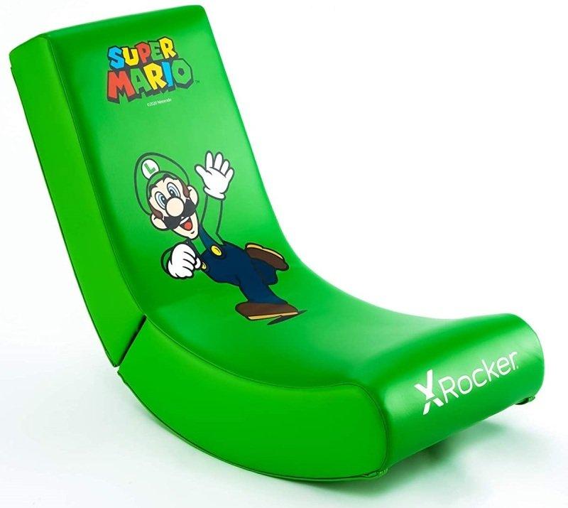 X Rocker Nintendo Licensed Video Rocker Gaming Chair- Luigi