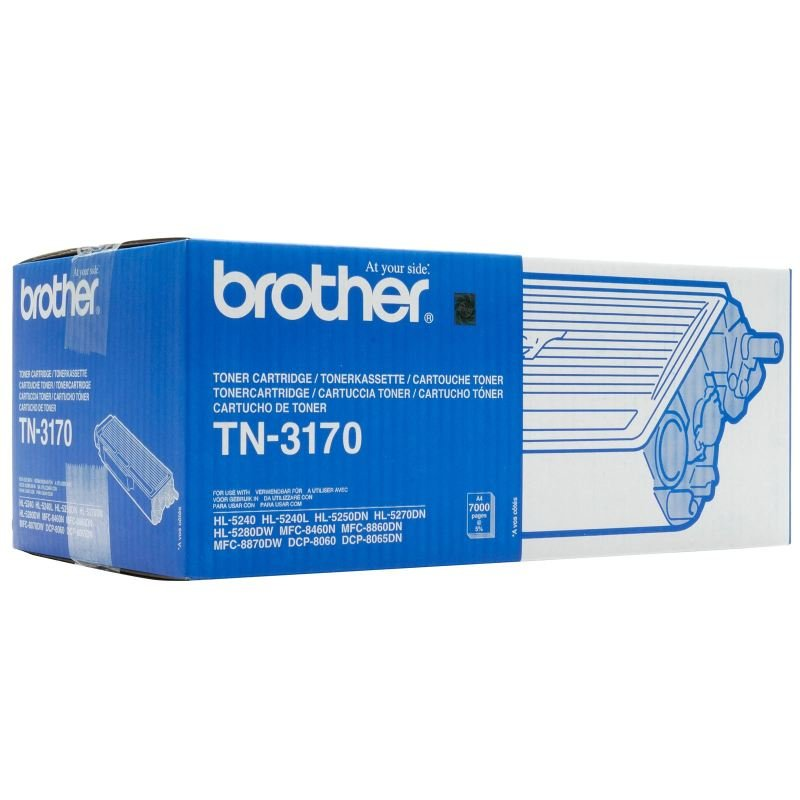 EXDISPLAY Brother TN 3170 Black Toner cartridge