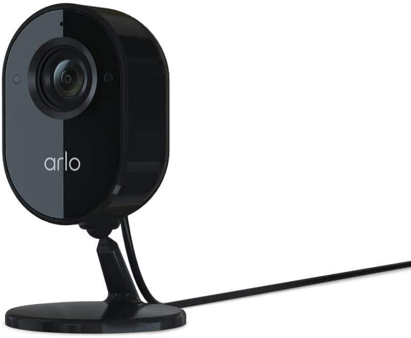 Arlo Essential Indoor Home Security Camera System CCTV, 1080p, 2-Way A