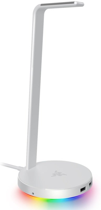 Base Station V2 Chroma Enabled Headset Stand with USB 3.1 Hub and 7.1 Surround Sound - Mercury