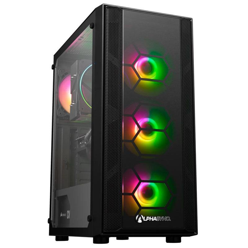 Alphasync RX 6700XT AMD Ryzen 7 16GB RAM 1TB HDD 500GB SSD Gaming Desktop