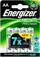 Energizer Accu Recharge Precision AA Batteries - 4 Pack