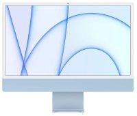 "Apple 24"" iMac with Retina 4.5K Display M1 Chip 8GB RAM 512GB SSD - Blue"
