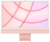 "Apple 24"" iMac with Retina 4.5K Display M1 Chip 8GB RAM 256GB SSD - Pink"