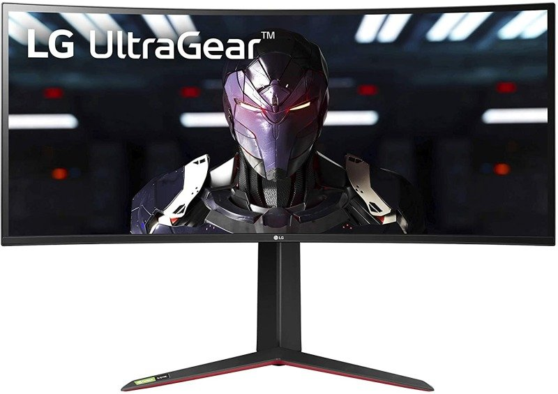 "LG 34GN850-B 34"" 21:9 Curved UltraGear QHD 1ms 144Hz Gaming Monitor"