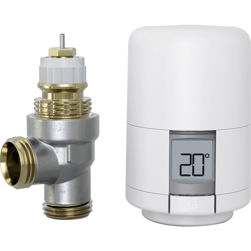 Hive Smart Radiator Valve with Head and Body
