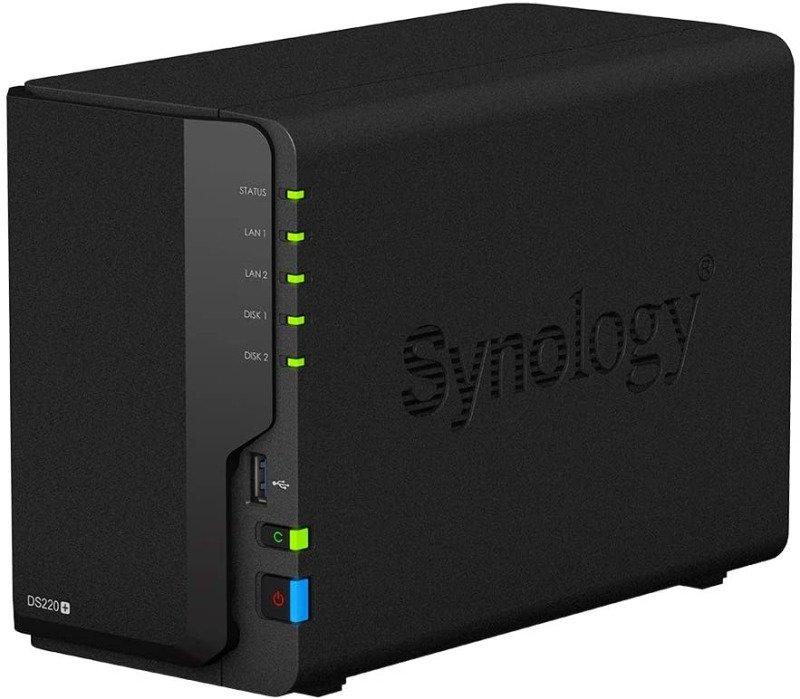 Synology DS220+ 2 Bay Desktop NAS Enclosure