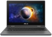"""ASUS BR1100F Celeron N4500 4GB 64GB eMMC 11.6"""" Win10 Pro Academic Touchscreen Convertible Laptop- Ships with Stylus"""