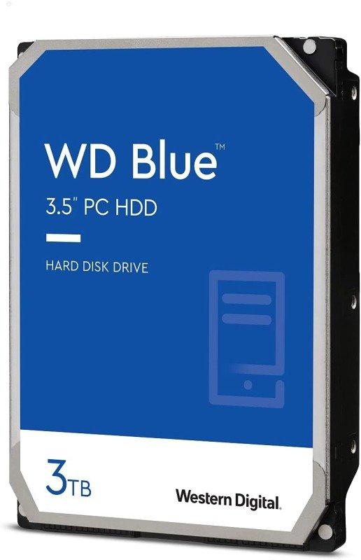 """WD Blue 3TB 3.5"""" SATA Desktop Hard Drive"""