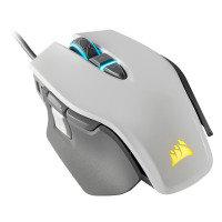 Corsair M65 RGB ELITE Tunable FPS Gaming Mouse, White - Refurbished by Corsair