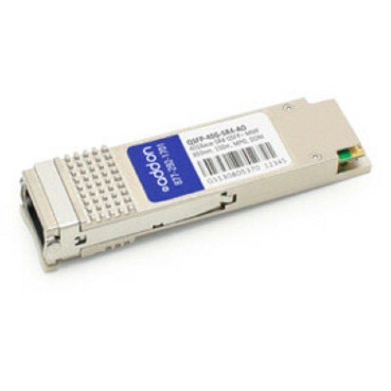 AddOn Cisco QSFP-40G-SR4 Compatible QSFP+ Transceiver - QSFP+ Transceiver Module - 40 Gigabit LAN