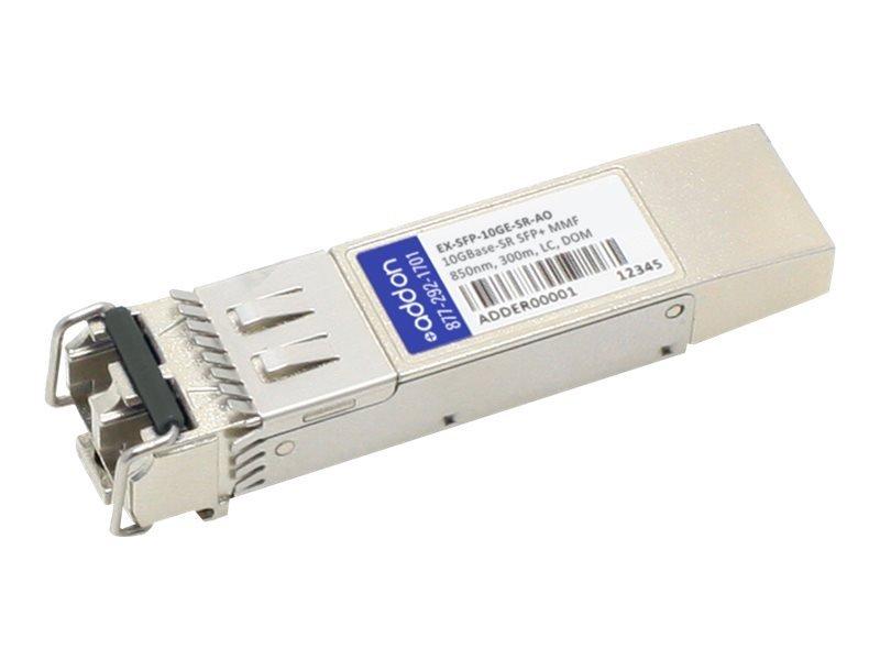AddOn Juniper Compatible SFP+ Transceiver - SFP+ Transceiver Module - 10 GigE