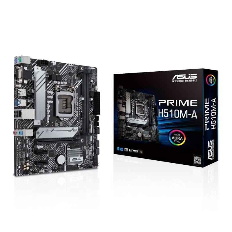 ASUS PRIME H510M-A mATX Motherboard