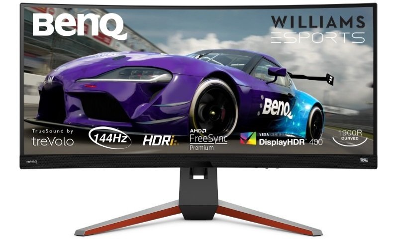 """Image of BenQ MOBIUZ EX3415R 34"""" Ultrawide 1ms 144hz Gaming Monitor"""