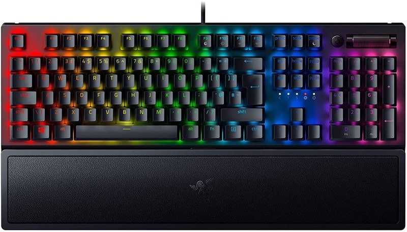 Image of Razer BlackWidow V3 Mechanical Gaming Keyboard - Green Switch - UK Layout
