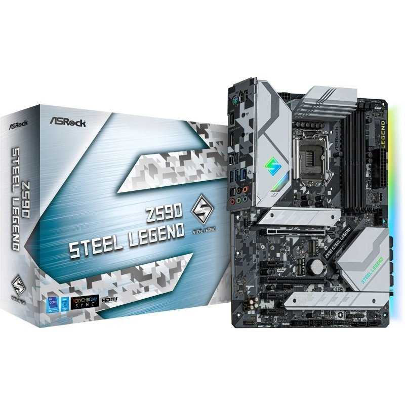 ASRock Z590 Steel Legend ATX Motherboard