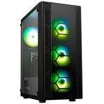 AlphaSync AMD Ryzen 3 8GB RAM 500GB SSD GTX 1050Ti Gaming PC