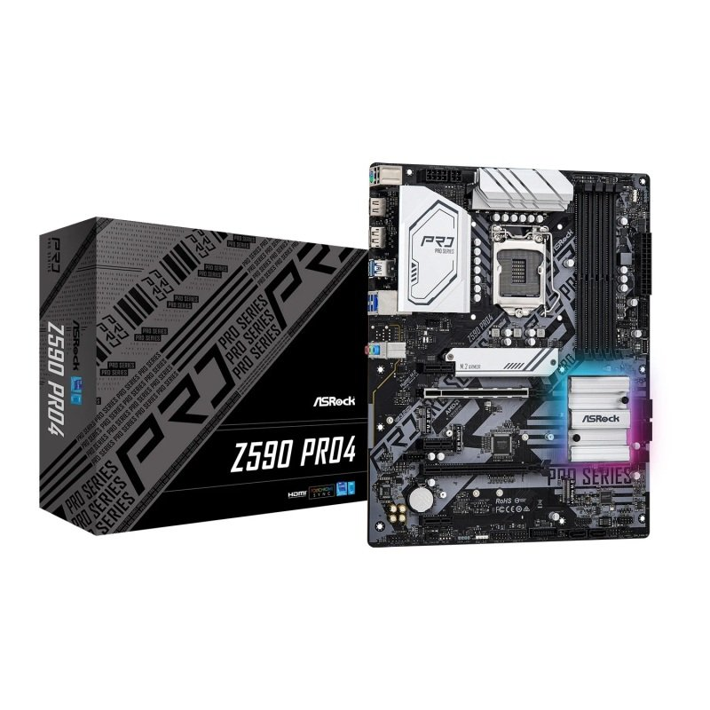 ASRock Z590 Pro4 ATX Motherboard