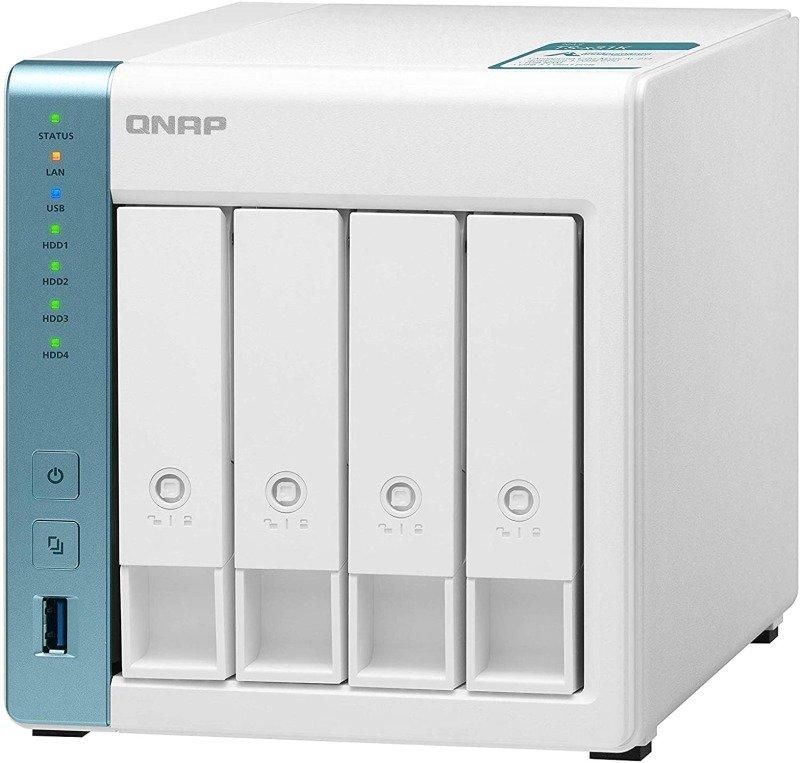 QNAP TS-431K 8TB (4 x 2TB) Seagate IronWolf 4 Bay Desktop NAS Enclosure