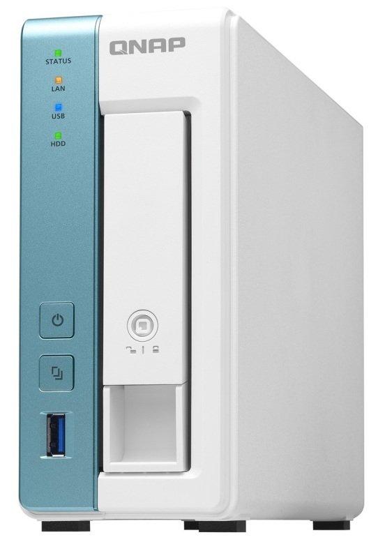 QNAP TS-131K 2TB Seagate IronWolf 1 Bay Desktop NAS Enclosure