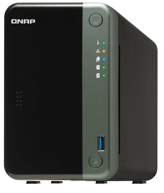 QNAP TS-253D-4G 2TB (2 x 1TB) WD Red 2-Bay Desktop NAS