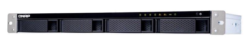 QNAP TS-431XeU-2G 12TB (4 x 3TB) WD Red 4 Bay Rack NAS Enclosure with 2GB RAM
