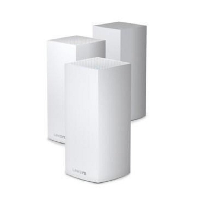 Linksys VELOP MX12600 - Wi-Fi System - 802.11a/b/g/n/ac/ax - Desktop - 3 PACK