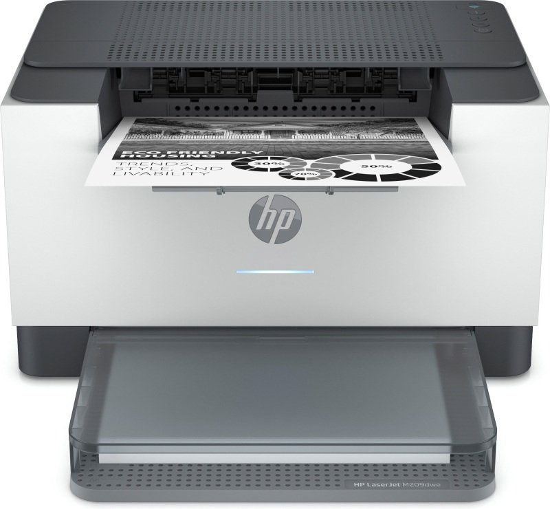 HP LaserJet M209dwe A4 Mono Laser Printer with 6 months of Instant Ink with HP PLUS