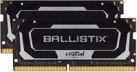 Crucial Ballistix BL2K8G26C16S4B 2666 MHz, DDR4, DRAM, Laptop Gaming Memory Kit, 16GB (8GB x2), CL16