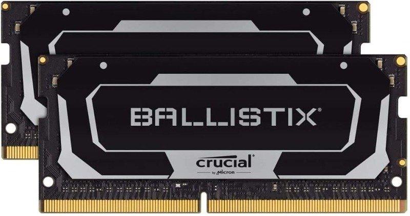Crucial Ballistix SODIMM DDR4 3200 64GB (2x32GB) DRAM Laptop Gaming Memory