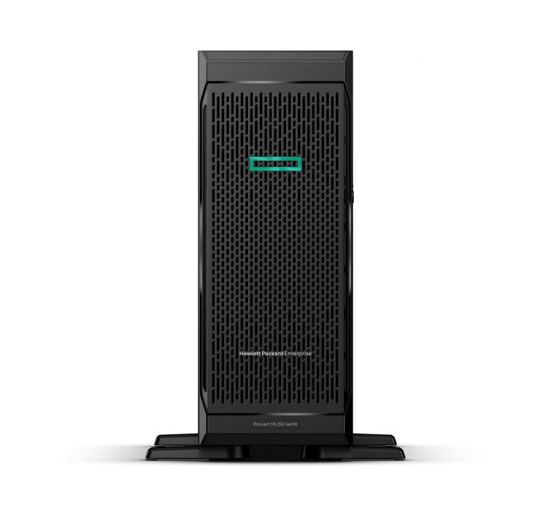 HPE ProLiant ML350 G10 4U Tower Server - 1 x Intel Xeon Silver 4208 2.10 GHz - 16 GB RAM