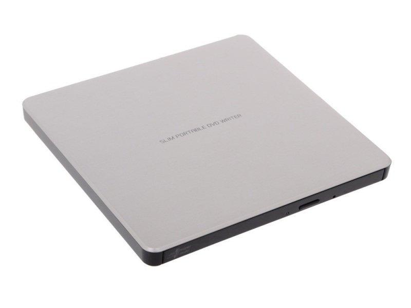 LG GP60NS60.AUAE12S 8x USB 2.0 Portable Slim DVD-RW - Silver