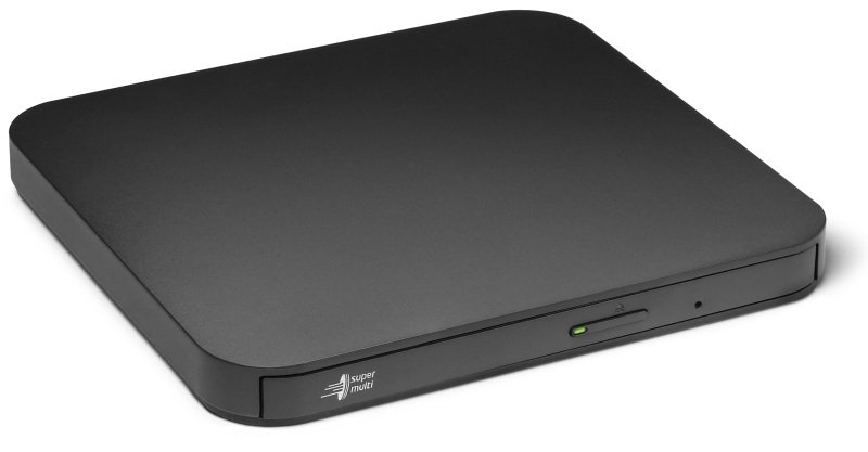 LG GP90NB70 8x USB 2.0 Ultra Slim Portable DVD-RW - Black