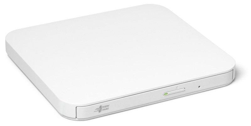 LG GP90NW70 8x USB 2.0 Ultra Slim Portable DVD-RW - White