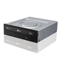 LG GH24NSD5 Internal DVD-W Black Bare Drive