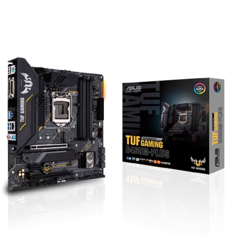 ASUS TUF Gaming B460M-PLUS mATX Motherboard