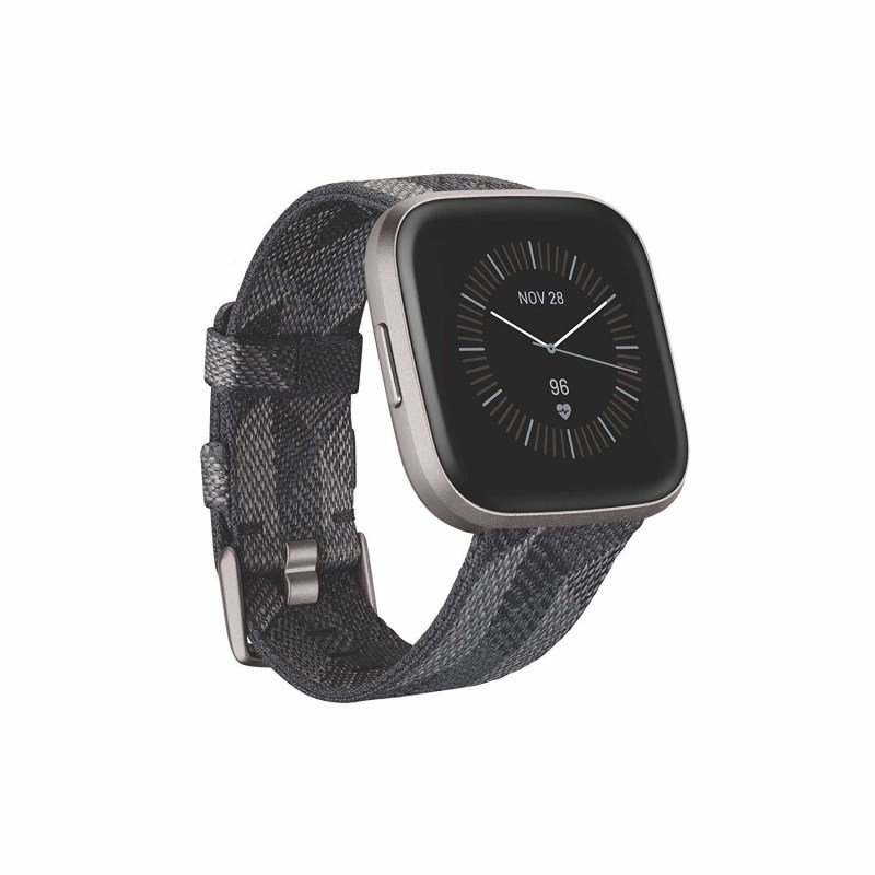 Fitbit Versa 2 Special Edition Smartwatch - Smoke Woven