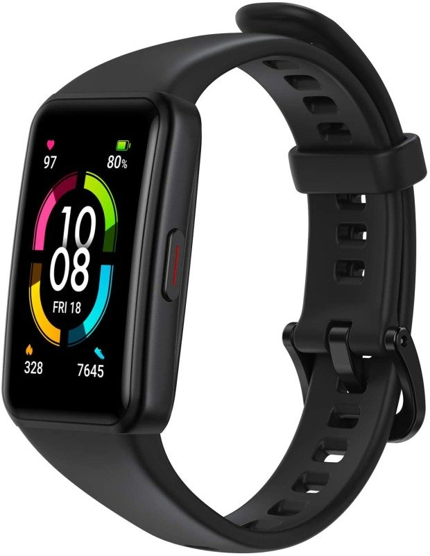 HONOR Band 6 Smart Watch Fitness Tracker - Black