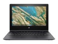 "HP Chromebook X360 Intel Celeron N4020 4GB RAM 32GB eMMC 11.6"" Touchscreen Chrome OS Convertible Chromebook - 12X47EA"