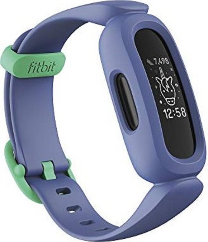 Fitbit Ace 3 Kids Activity Tracker - Cosmic Blue/Green