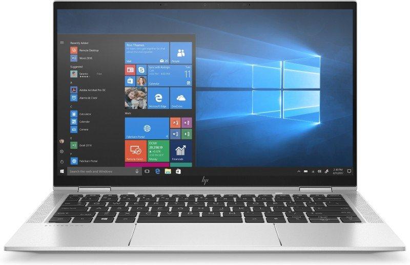 "Image of HP EliteBook x360 1030 G7 Intel Core i5-10210U 8GB RAM 256GB SSD 13.3"" Full HD Touchscreen Windows 10 Pro Convertible Laptop - 204J4EA"