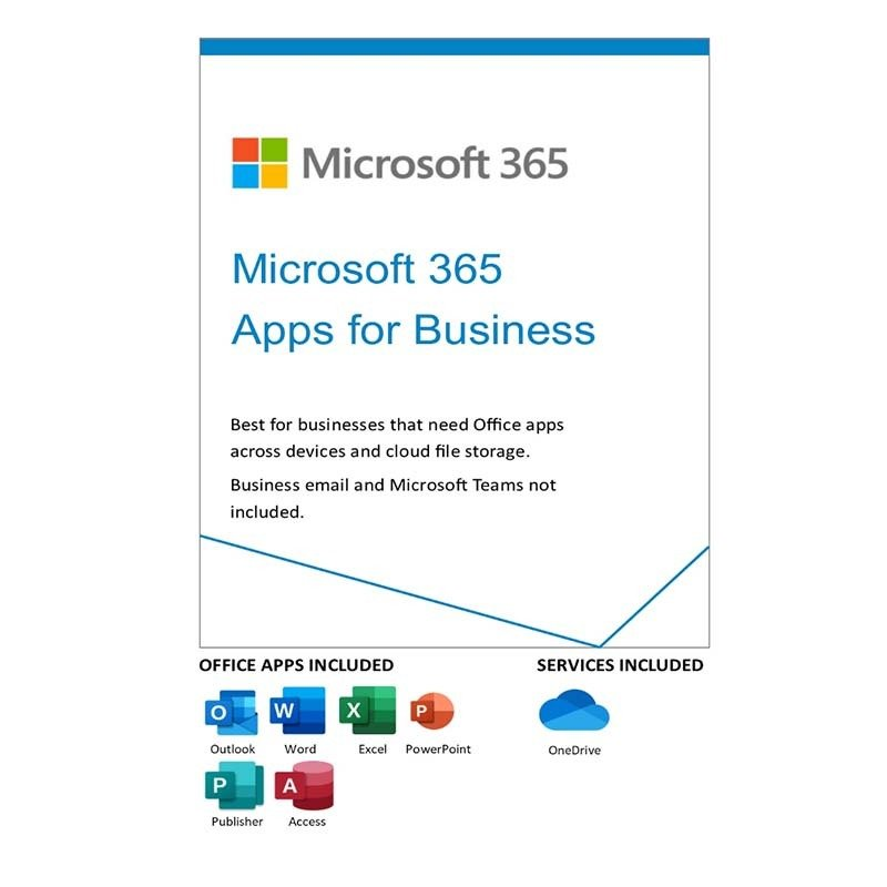 Microsoft 365 Apps For Business 1yr Subscription Download