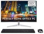 £599.99, Acer Aspire C22 AIO 21.5inch Core i3 11th Gen 8GB 1TB HDD 128GB SSD Win10 Home Desktop PC, Intel Core i3-1115G 3GHz, 8GB RAM, 1TB HDD, 128GB SSD, 21.5inch Full HD Display, WiFi 6, Windows 10 Home,
