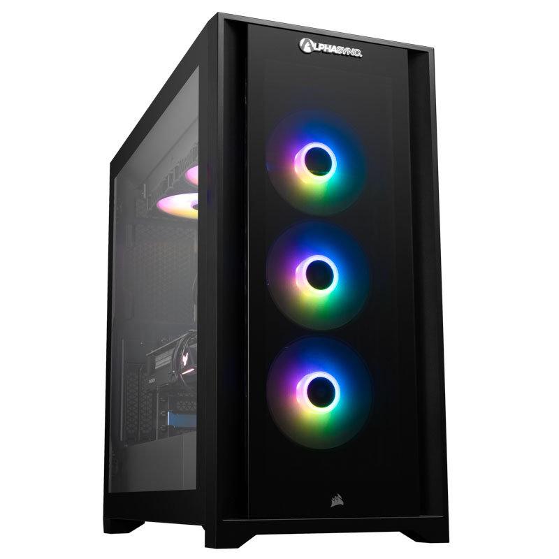 AlphaSync iCUE RX 6900XT AMD Ryzen 9 32GB RAM 4TB HDD 1TB SSD Gaming Desktop PC