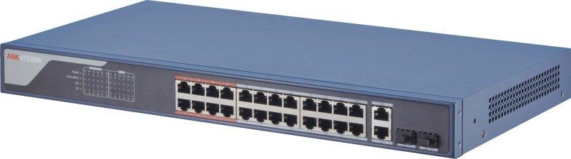Hikvision 24 Port Fast Ethernet Smart POE Switch